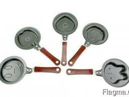 Мини-сковорода фигурная (блинная сковорода)