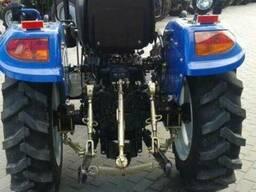 Мини-трактор DongFeng-244 (ДонгФенг-244) с широкой резиной - фото 3