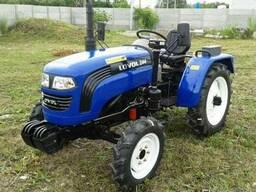 Мини-трактор Foton/Lovol TE-244 с ходоуменьшителем