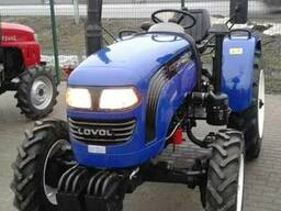 Мини-трактор Foton Lovol TE-244 с широкими шинами