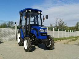 Мини-трактор Lovol/Foton TE-244 с кабиной и реверсом