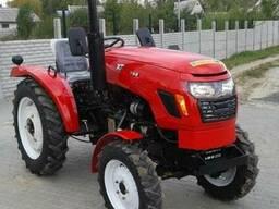 Мини-трактор Xingtai XT-244 (Синтай-244) с усилителем руля