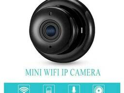 Мини wifi камера IP Konlen KL-Q2, беспроводная, 2 Мп, 1080P, SD карта до 128 Гб