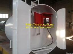 Мини заправка- Модульная АЗС с антивандальным шкафом 3 м.куб