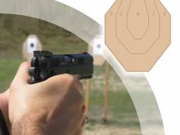 Мишень Классическая IPSC (МКПС) для практической стрельбы