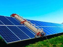 Мийний агрегат для очищення сонячних панелей