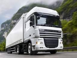 Міжнародні вантажні перевезення Україна - Європа