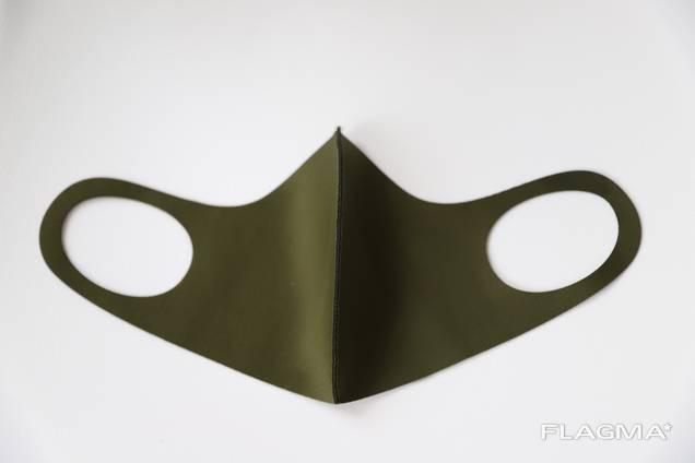 Многоразовая маска Питта хаки