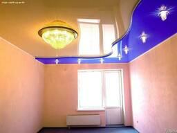 Многоуровневые двухуровневые натяжные потолки LuxeDesign