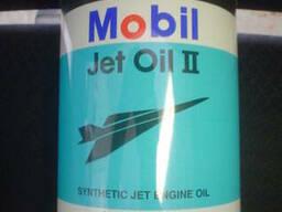 Mobil Jet Oil II, синтетическое авиационное масло Mobil Jet.