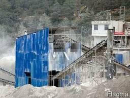 Мобильная дробилка для переработки Рециклинг строительных от