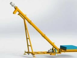 Мобильная установка для выгрузки цемента из хопров 25 т/час