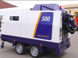 Мобильный асфальтосмеситель для дорожных работ SUMAB A-500 Швеция