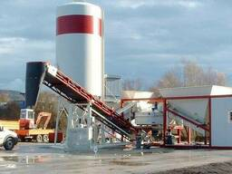 Мобильный бетонный завод, БСУ, РБУ Эконом-класса 30 м3 в час