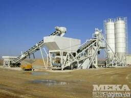 Мобильный бетонный завод Mekamix 100M MB-100М