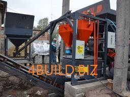 Бетонний завод, бетонный завод, мобильний РБУ, мобильный бетонозавод