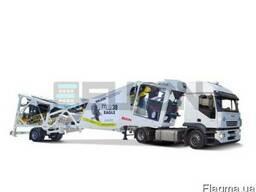 Мобильный бетонный завод серии Elkon Mobile Master
