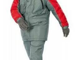 Модель костюма Драйв серого цвета