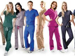 Модная медицинская одежда под пошив
