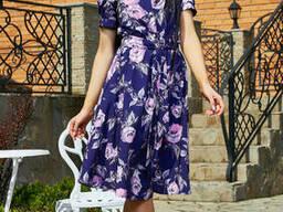 Модное летнее платье 44-50, доставка по Украине