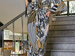 Модный легкий женский комбинезон 42-48, доставка по Украине
