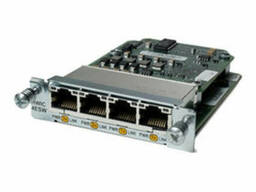 Модуль Cisco Four port 10/100 Ethernet switch HWIC-4ESW