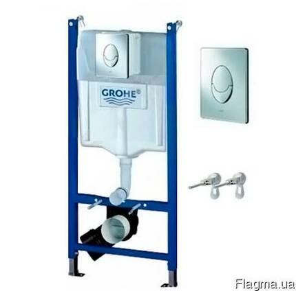 Модуль Grohe артикул 38745001 для подвесного унитаза (3 в 1)