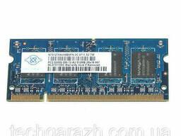 Модуль памяти для ноутбука Nanya SO-DIMM DDR2 512Mb...