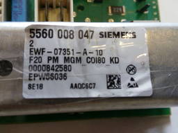 Модуль управления , плата Siemens Bosch