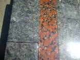 Модульная гранитная плитка из лабрадорита - фото 3