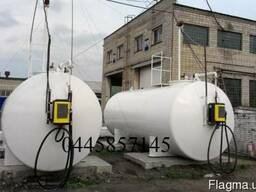 Заправочный модуль, резервуар АЗС, емкость для хранения топл