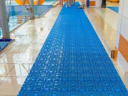 Модульное антискользящее покрытие для бассейнов, саун и т. д.