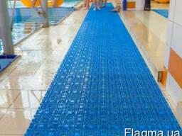 Модульное напольное покрытие для бассейнов, аквапарков
