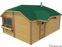 Модульный деревянный дом 4х6м