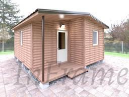 Модульный дом Блокхаус (30м2)