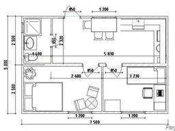 Модульный домик на дачу 5х7,5м - фото 2