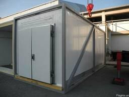Модульный холодильный/морозильный склад