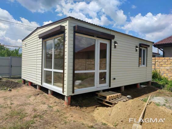 Модульный домик для дачи 6х7м