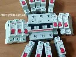 Модульные автоматы на дин рейку 1А, 2А, 4А, 6А, 10А……125А