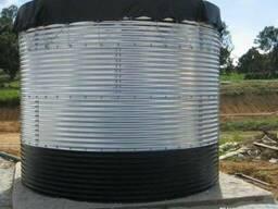 Модульные емкости, сборные резервуары от 18 до 3000 м3