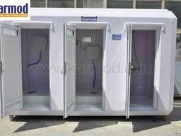 Модульные туалеты и душевые Кармод