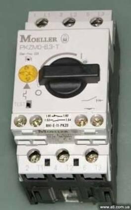 Moeller PKZMO-6,3-T автомат защиты двигателя