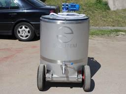Молочное такси для выпаивания телят 100-300 л МТП, МТПЭ