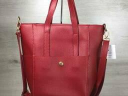Молодежная женская сумка Милана с классическим ремнем. ..