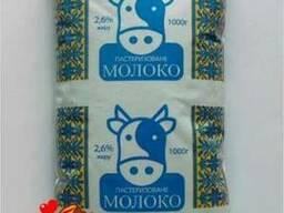 Молоко пастеризованное