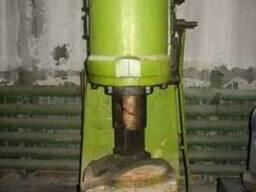 Молот пневматический электр. МА-4129А, 1977 г. в.