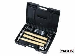 Молотки рихтувальні YATO 4.9 кг 7 шт
