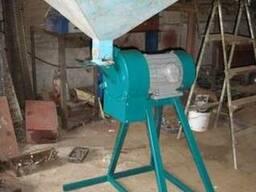 Молотковая дробилка для зерна, зернодробилка, кормодробилка