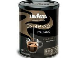 Молотый кофе Lavazza Espresso 250 грамм в жестяной банке