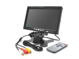 """Монитор для видеонаблюдения TFT 7"""", AV + VGA +HDMI разъемы, 1024*600ips, 12V, BOX"""